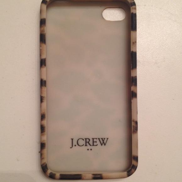 the best attitude fbffc 5398f iPhone 4/4s j.crew leopard phone case