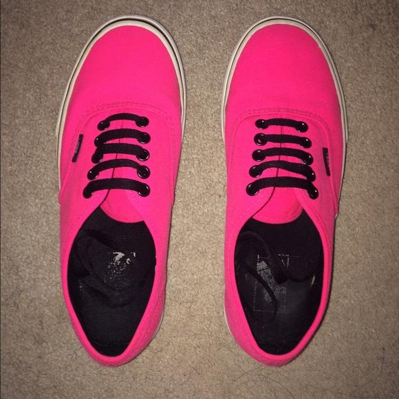 Vans Shoes | Hot Pink Vans | Poshmark
