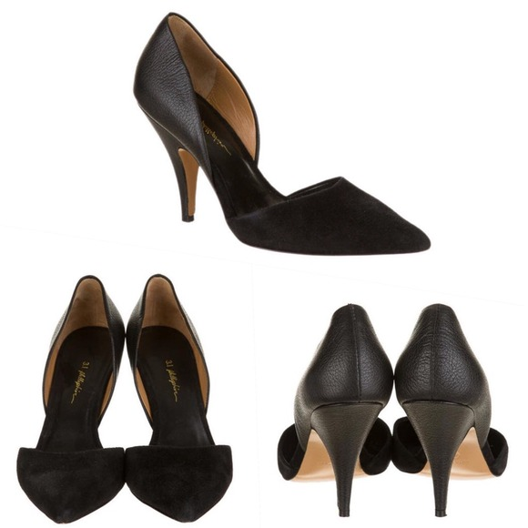 3.1 Phillip Lim Diamond D'Orsay Pumps clearance popular w09sc