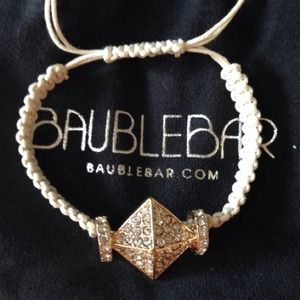 Bauble Bar  Jewelry - New Bauble Bar Braided Rope Statement Bracelet
