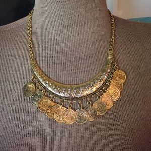 Jewelry - NEW Boho Coin Necklace