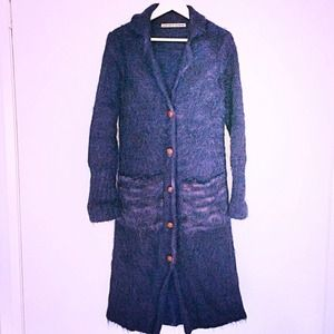morioka sachiko Outerwear - 🆑 150$! HP🎉 One of a kind! Knit Coat