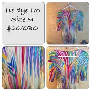 Tie-Dye Top