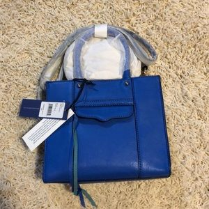 NWT Rebecca minkoff mini MAB bright blue