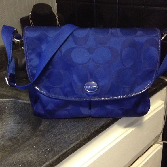 Coach Handbags - Coach bag - Royal Blue
