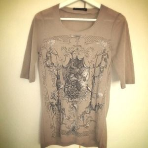Balenciaga Tops - Balenciaga Beautiful transparent art tee