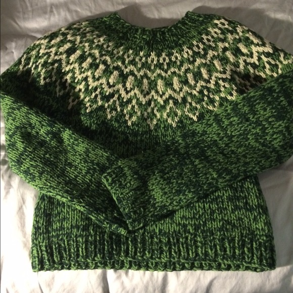 American Eagle Outfitters Sweaters Fair Island Hand Knit Sweater