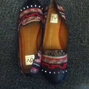 Studded dolce vita loafers