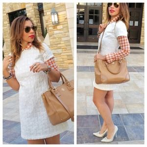 Dresses & Skirts - White Short Sleeve Dress