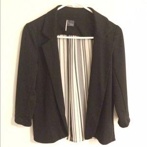 Sparkle&Fade blazer in black and white print