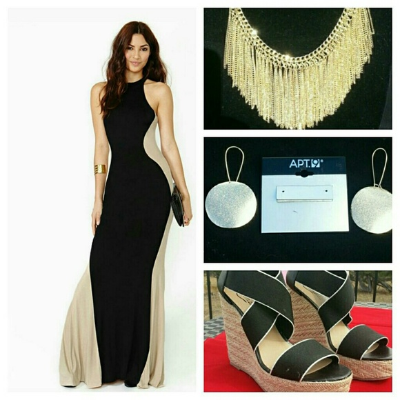 Dresses Black Friday Saletanblack Hourglass Maxi Dress Poshmark