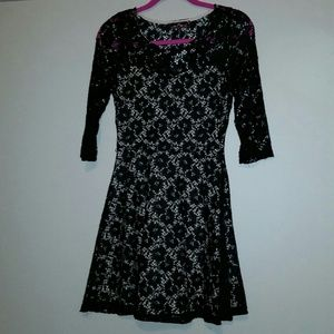Almost Famous Dresses & Skirts - ALL OVER LACE DRESS - SIZE MEDIUM