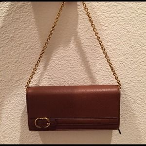 Gucci Continental Leather Wallet/Wristlet