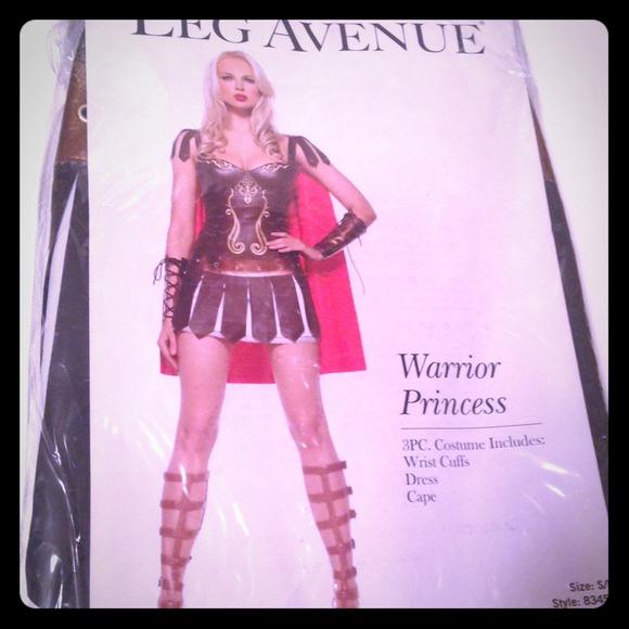 Leg Avenue?Gladiator Warrior Princess costume & Leg Avenue Other   Gladiator Warrior Princess Costume   Poshmark