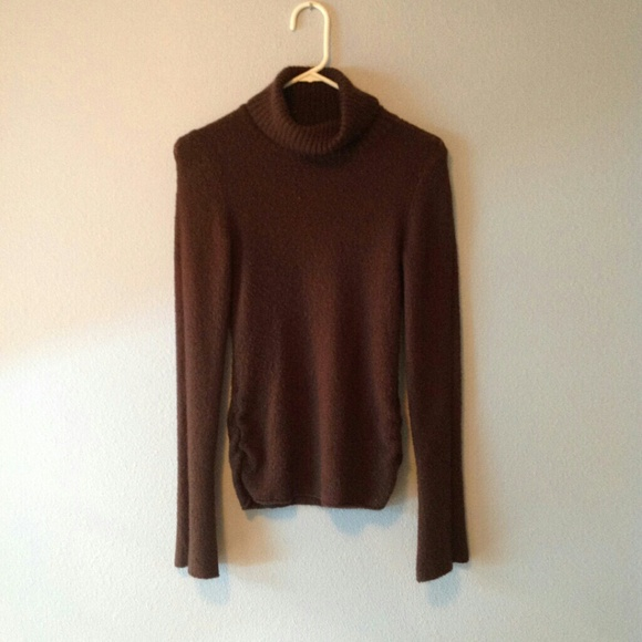 Soft Brown Knit Turtleneck Sweater S from Whitney's closet on Poshmark