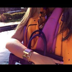 Hermes Wide Clic Clac Bracelet