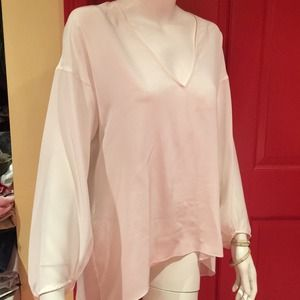 White blouse by Zara