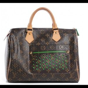 (NFS)Authentic LV Limited ed. Perforated speedy 30