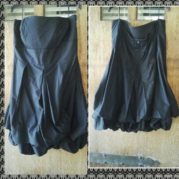 (NEW) Plus Size Black Torrid Bubble Dress NWT