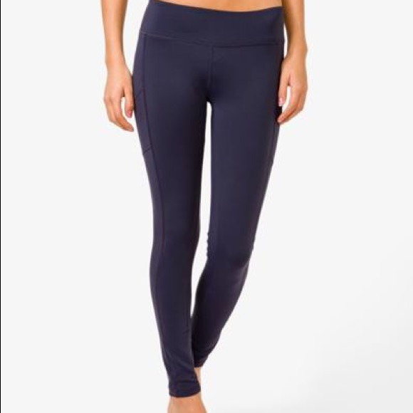 62% off Forever 21 Pants - Long fitted yoga pants stretch gray ...