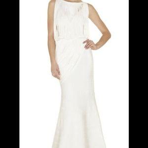 Herve Leger Dresses & Skirts - Herve Leger Thalia Draped Gown