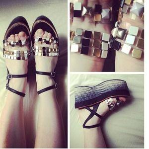 Miista Strappy Platform Sandals SOLD