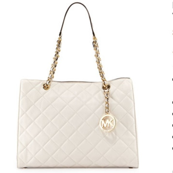 18% off Michael Kors Handbags - MK Large Susannah Quilted Leather ...