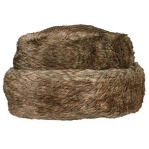Turtle Fur Accessories - Brown Fur Hat