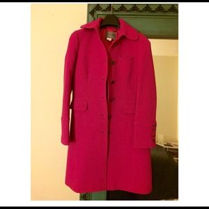 J. CREW DOUBLE-CLOTH METRO COAT WITH THINSULATE