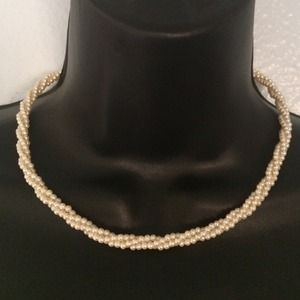 Vintage Napier Braided Pearl Necklace💰Final Price