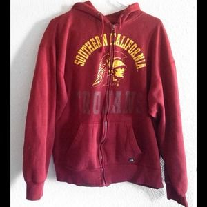 USC Trojans hooded jacket