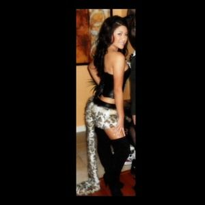 942a12164687 J. Valentine Other | Sexy Deluxe Frisky Leopard Skirtcorset Costume ...