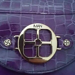 Purple IMAN bag