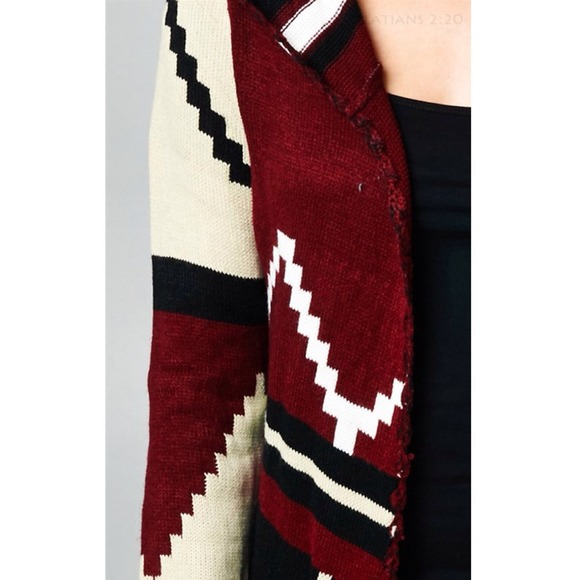 95% off Sweaters - SOLD OUT Tribal maxi cardigan from Sherrie's ...