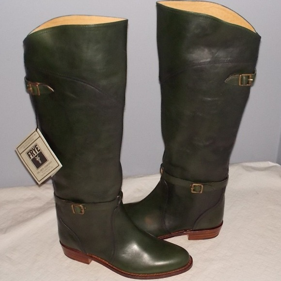 67% off Frye Boots - frye dorado boots size 8 green knee high from ...