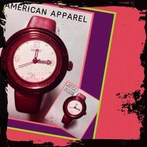 🆕American Apparel Elastic Retro Watch