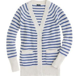 J. Crew Sweaters - J.CREW Ripplestitch Cardigan