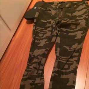 Army camp skinny pants from foreign exchange