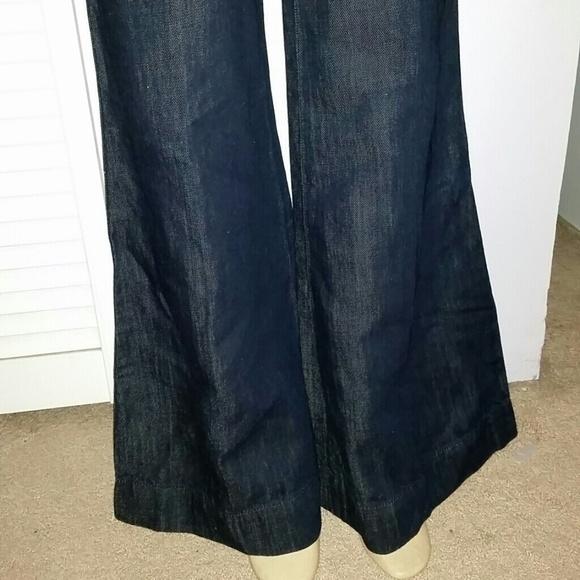 90% off Ralph Lauren Pants - Ralph Lauren rugby wide leg jeans ...