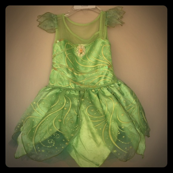 Disney Tinkerbell Costume Size 4 : disney tinker bell costume  - Germanpascual.Com