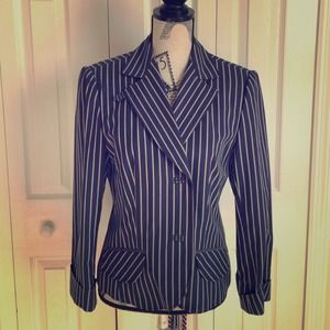 CYRILLUS Tops - Women's striped blazer