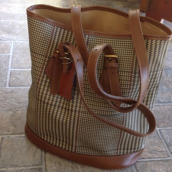 edc3f67475b 68% off Ralph Lauren Handbags - Vintage POLO Ralph Lauren Bucket Bag from  Jeanne s closet on Poshmark