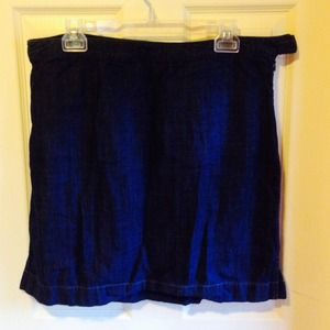 ANN TAYLOR Lightweight Denim Mini 14