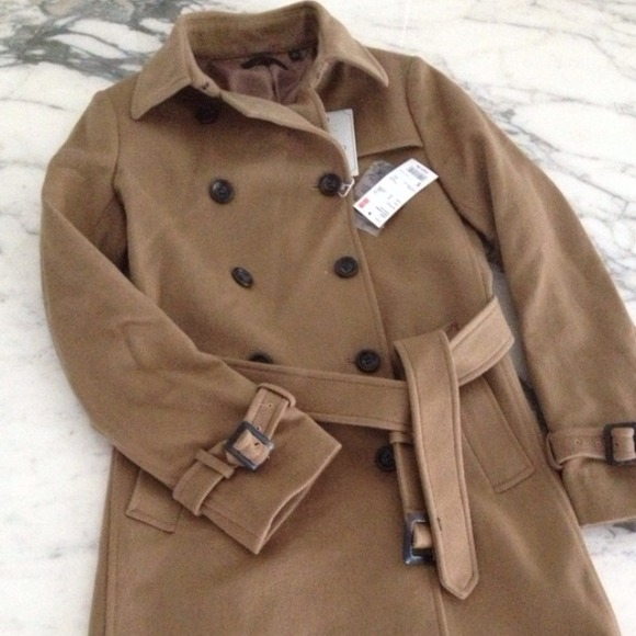 66% off UNIQLO Outerwear - ⚡ SALE Uniqlo Wool Trench Coat from ...