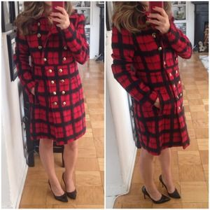Walter Baker Outerwear - Plaid Coat by Walter Baker