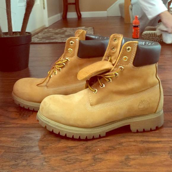 half off 3b57b 5220e Mens Timberland Boots! Like new! M 544d3fd8bb27a4136f1bfcb8