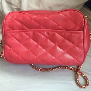 Handbags - Red Crossbody