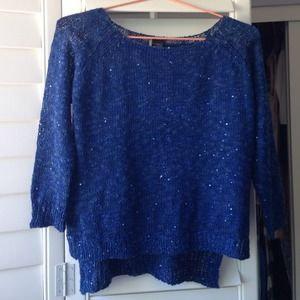 urban outfitters sparkle and fade sequin sweater
