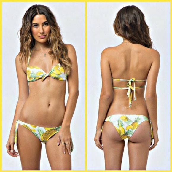 Kerry billabong pineapple bikini