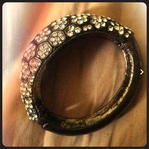 bebe Jewelry - Bebe Crystal Cuff Bracelet